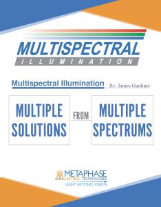 MULTISPECTRAL WHITE PAPER